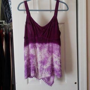Beautiful ombre purple top